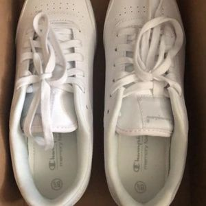 Champion Shoes - Champions Womens All White Sneakers BRAND NEW